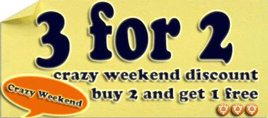 Crazy Weekend Discount