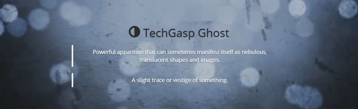 TechGasp Ghost WordPress Theme